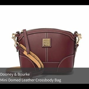 Rooney & Bourke Mini domed crossbody